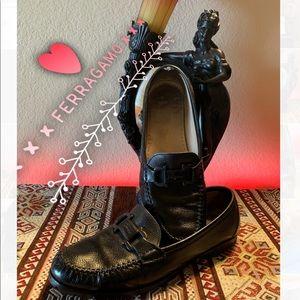 🔥Rare Ferragamo ❤️ Pristine Loafers